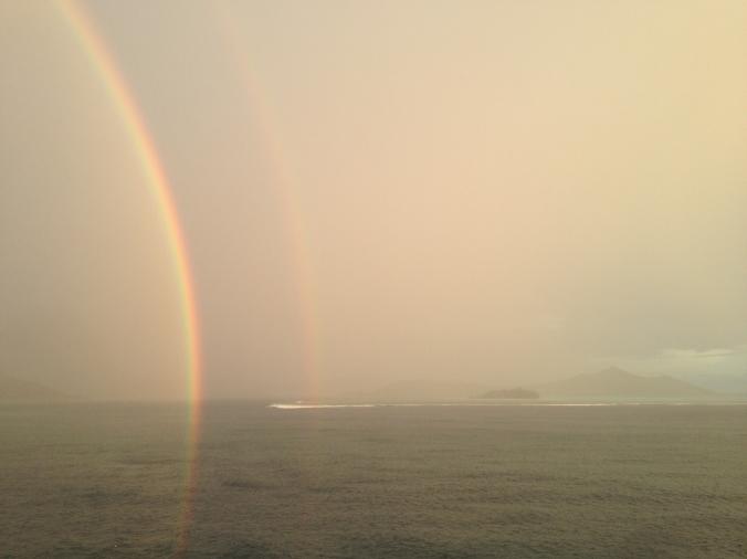 Bora Bora Rainbow 2017